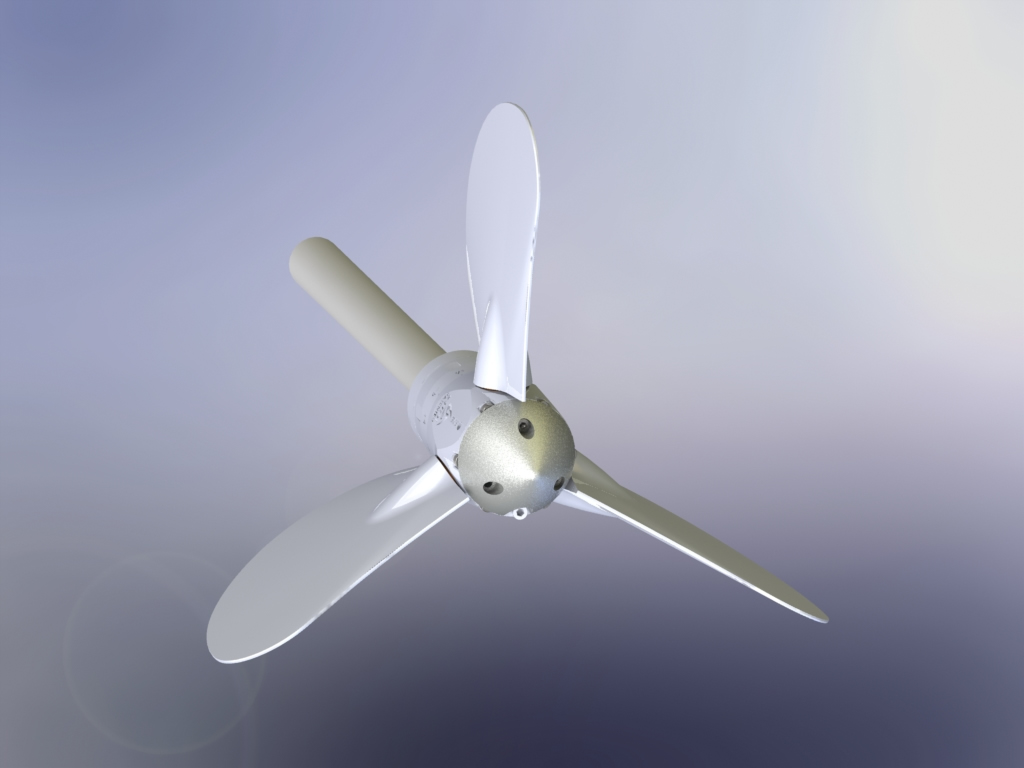 Propeller for boat andromeda